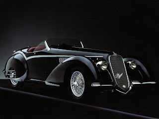 Alfa Romeo 8C 2900B Spider '1938 by Touring