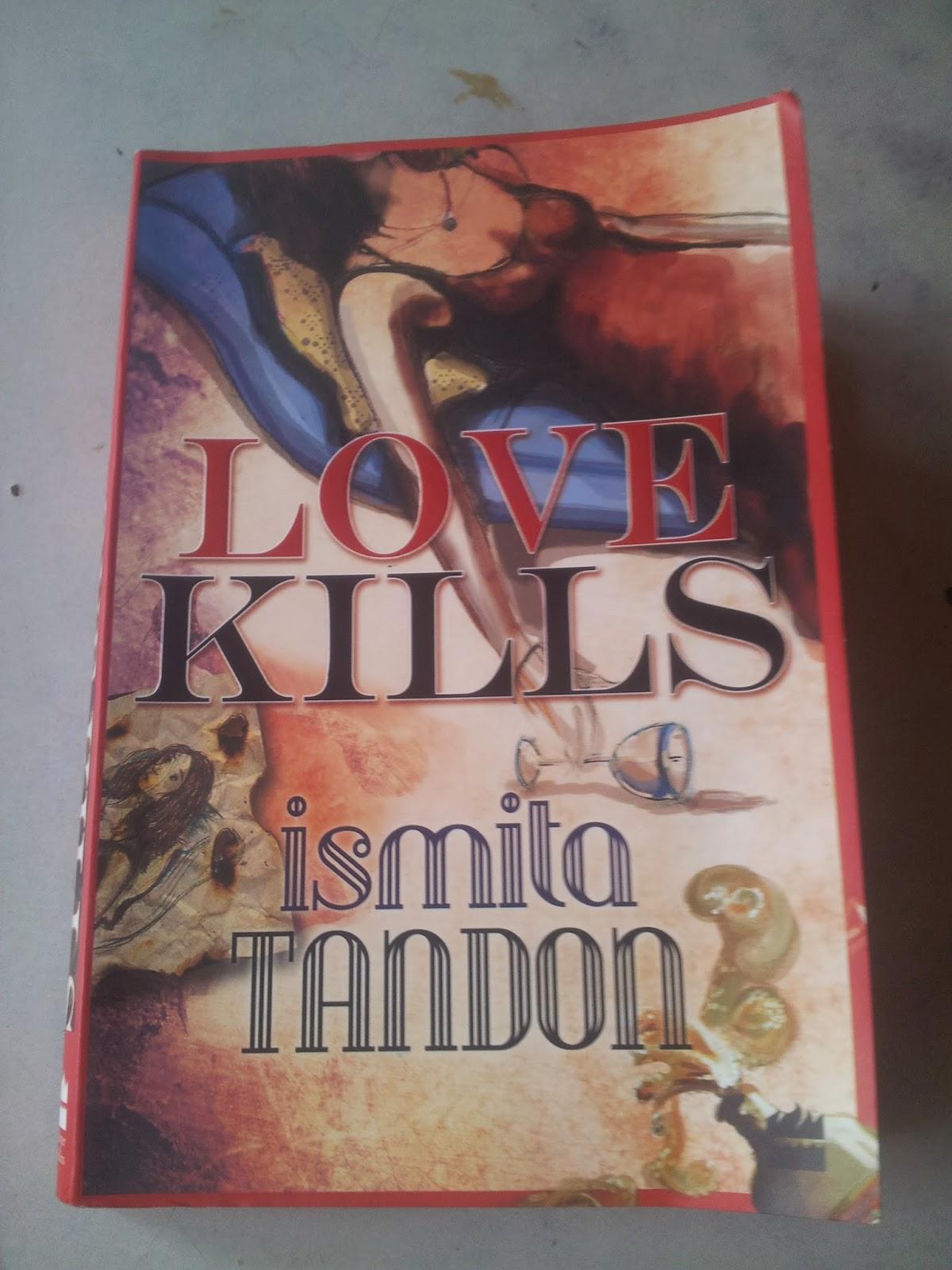 Love kills  book cover