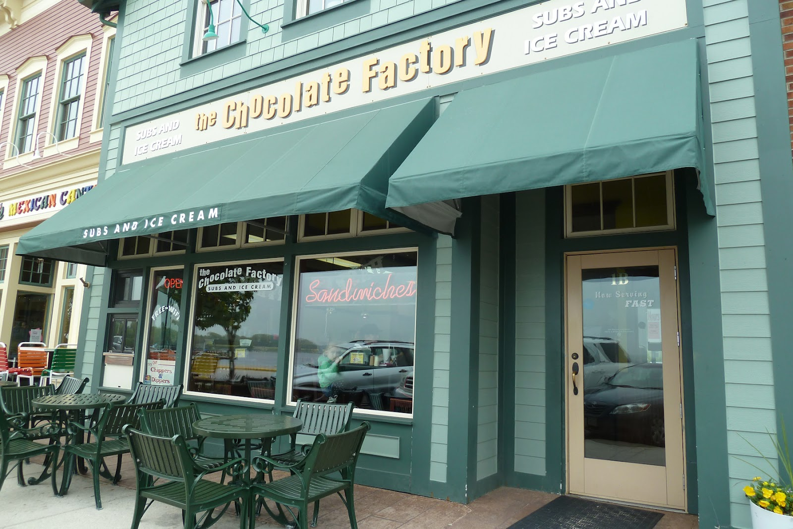 I Received A Coupon For Free Lunch At The Chocolate Factory From Our Insurance Agent It S Cute Little Restaurant Across Pewaukee Lake