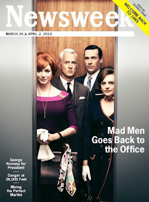 Newsweek, season 5, mad men