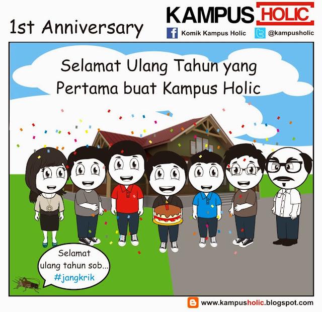 #379 1st Anniversary Kampus Holic