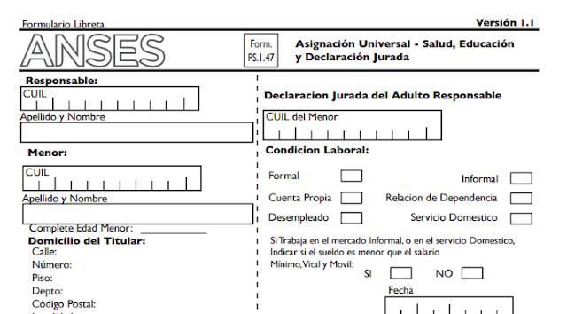 Universal: Pasos para presentar el Formulario 1.47 | Ignacio online