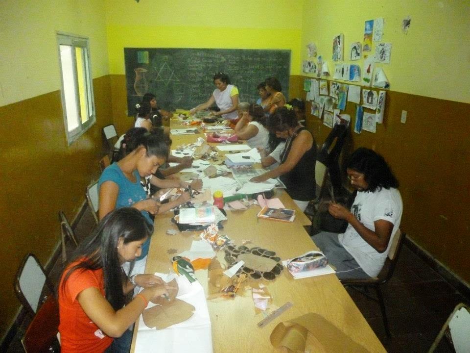 Campo quijano salta comenz el curso de marroquiner a for Oficina de empleo cursos