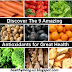 Discover The 9 Amazing Antioxidants for Great Health