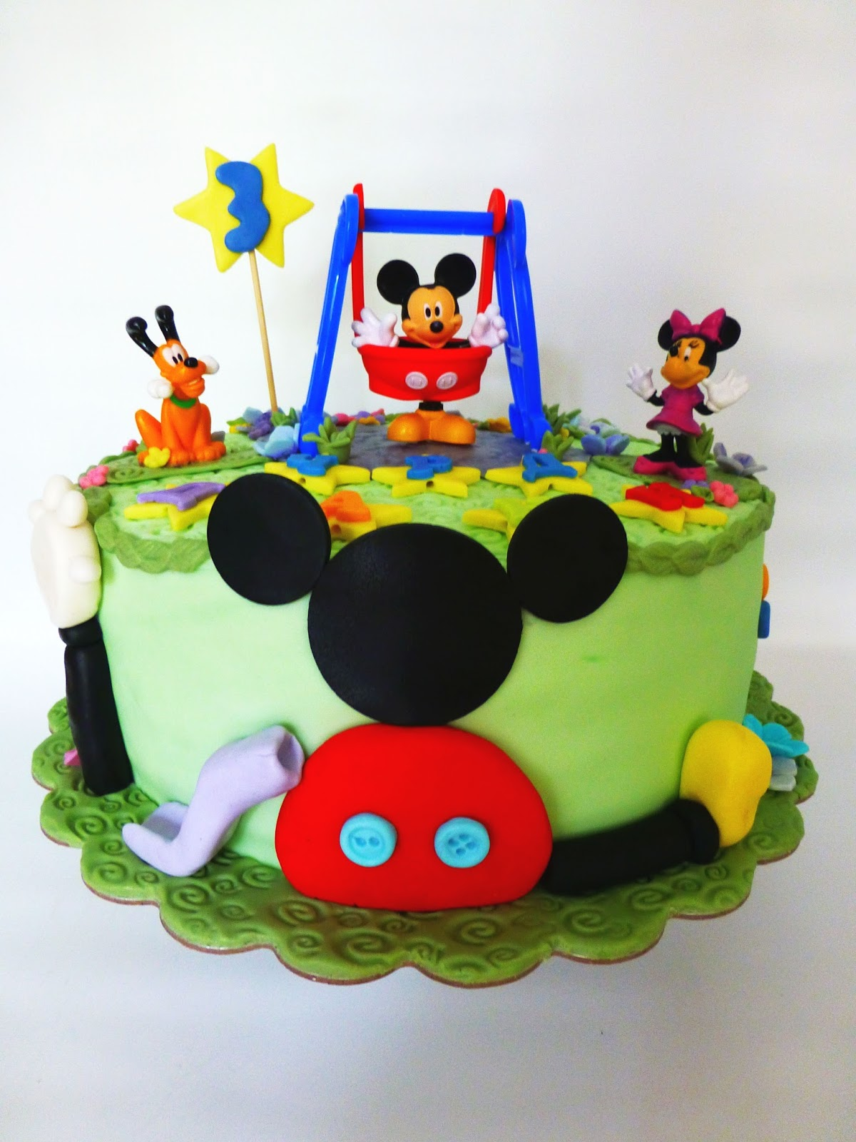Cakesophia Mickey Mouse Cake Muffins