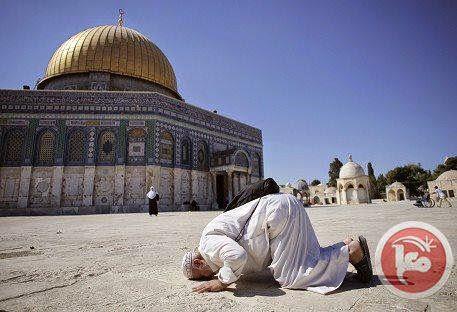 200 Warga Gaza Lakukan Shalat Jum'at di Al Aqsa