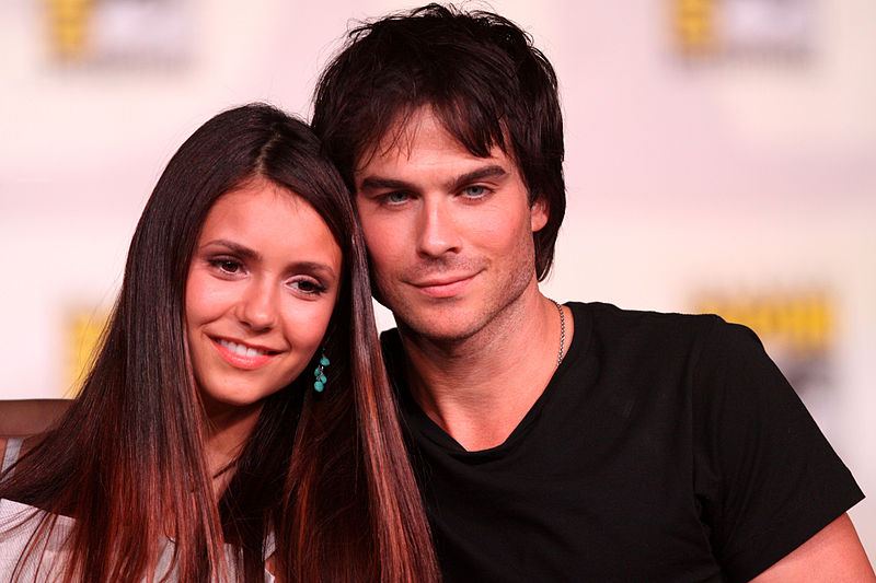 ian somerhalder and nina dobrev dating november 2012
