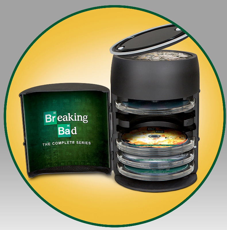 BREAKING BAD: THE COMPLETE SERIES Barrel Set Special Features Include: