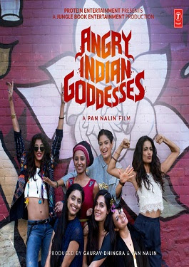Angry Indian Goddesses (2015) Hindi Full Movie DVDRip 700mb Download