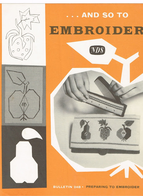 "Needlework Development leaflet ""Bulletin 24B"""