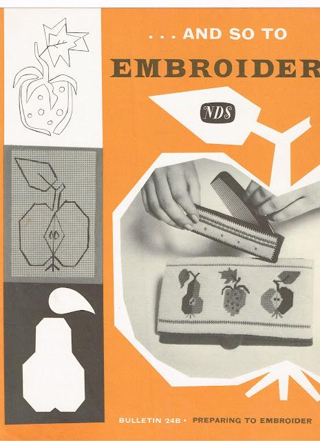 "Needlework Development leaflet ""Bulletin 24B"""