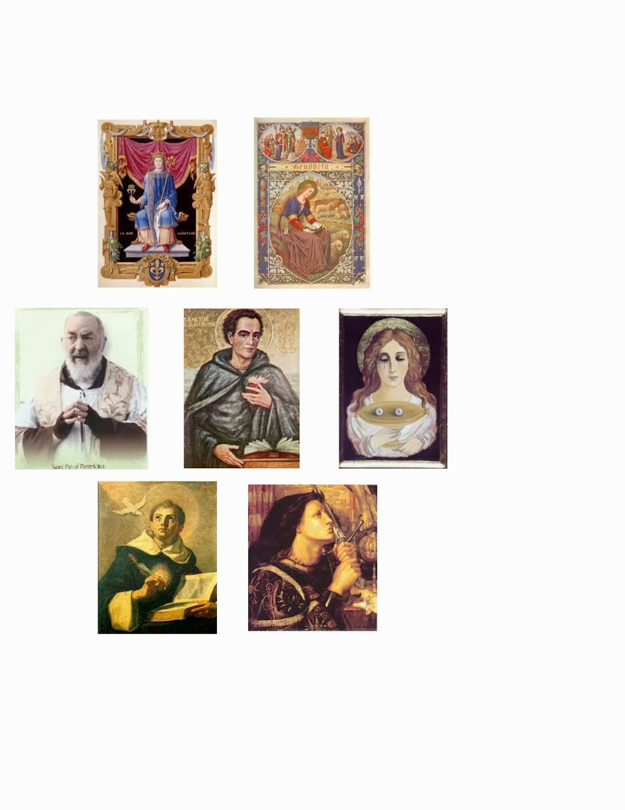 Our Family Patron Saints