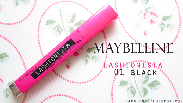 Maybelline Lashionista Mascara Swatches and Review