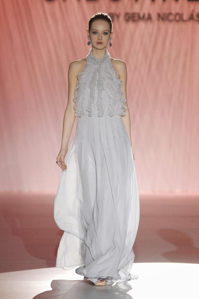 Moda y Ropa de Mujer: Tendencias de Gaudí en vestidos de novia 2015
