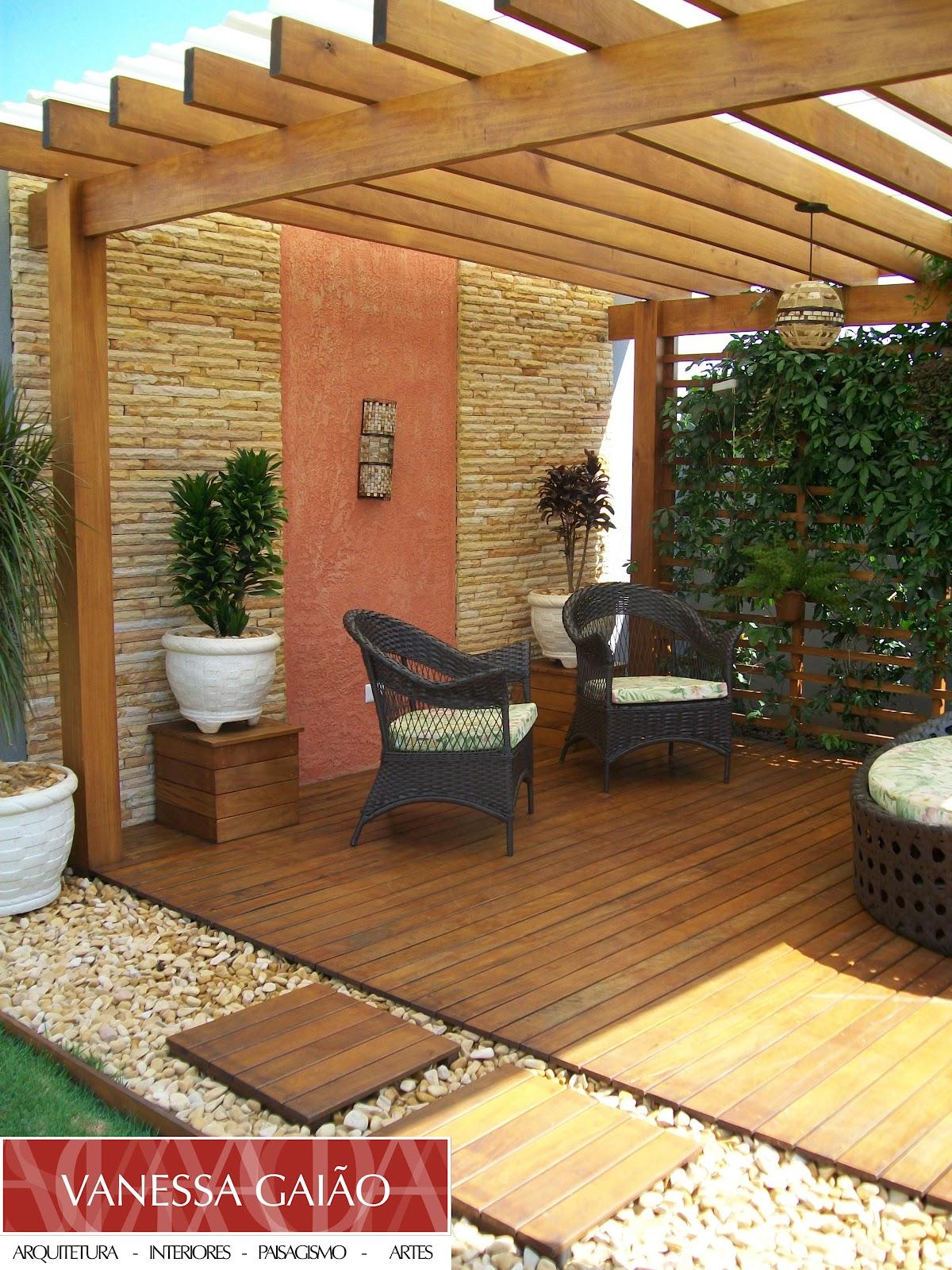 Vanessa gai o arquitetura paisagismo jardim com for Dec para terrazas