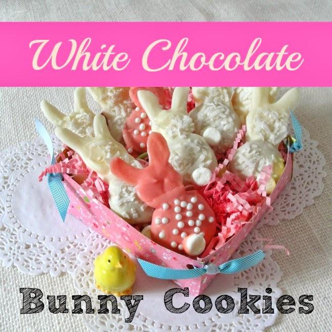White Chocolate Bunny Cookies