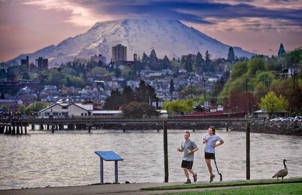Military News - Amputee veteran's Boston Marathon training is inspiration to others