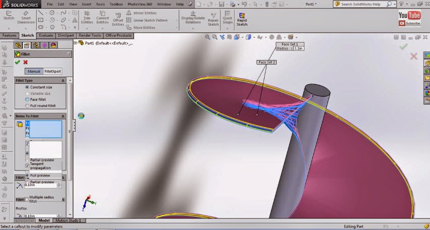 how to make an actuator on solidworks