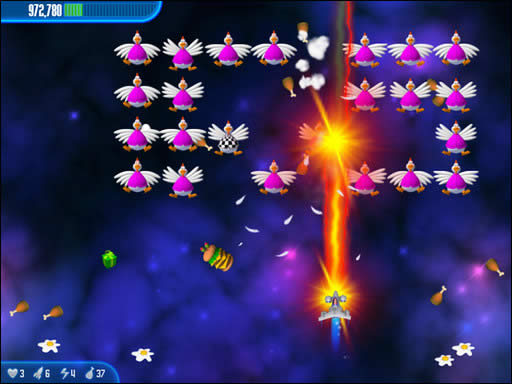 لعبة Chicken Invaders