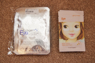 its skin etude house collagen eye mask sheet patch