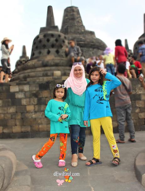 jalan jalan ke Borobudur saat libur lebaran