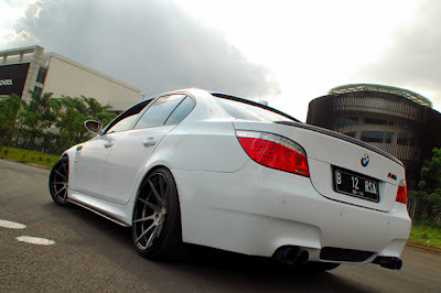 Modifications BMW 523i 2008