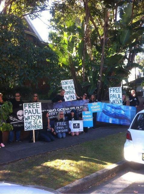 Manifestação na Austrália