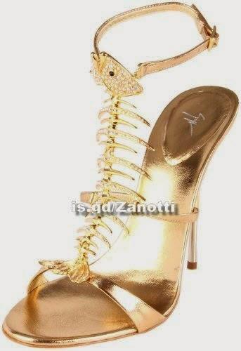 Giuseppe Zanotti Women's fish bone Sandals