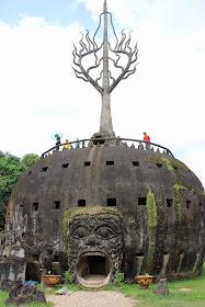 Parc Torre citrouille Bouddha