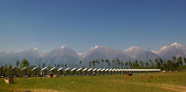 The Tunka Valley, the Republic of Buryatia. Eastern Siberia, Russia  June, 2012 Photo by Anna Ulyanova, Irkutsk