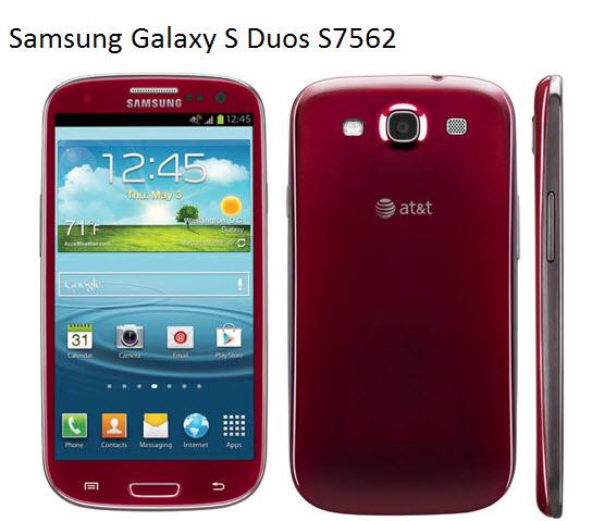 Samsung Galaxy S3 Red