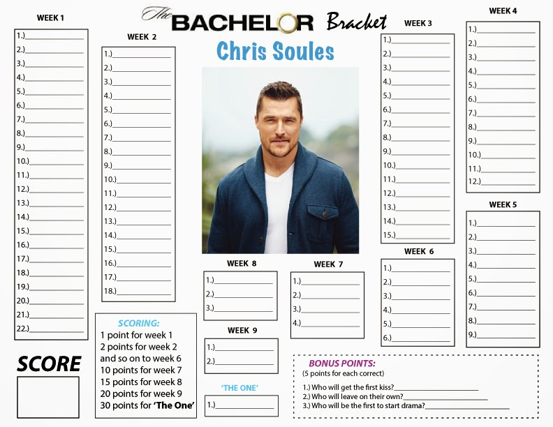 It is a photo of Dramatic Bachelor Bracket Printable
