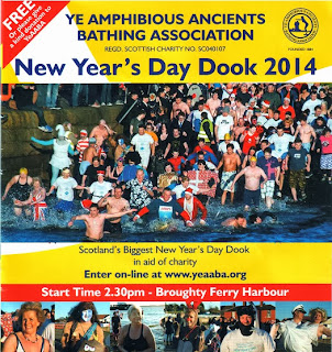 Broughty Ferry New Year's Day Dook 2014