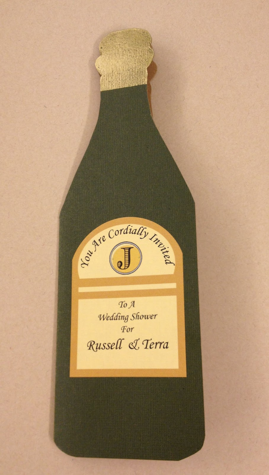 Invitation In A Bottle as amazing invitations sample