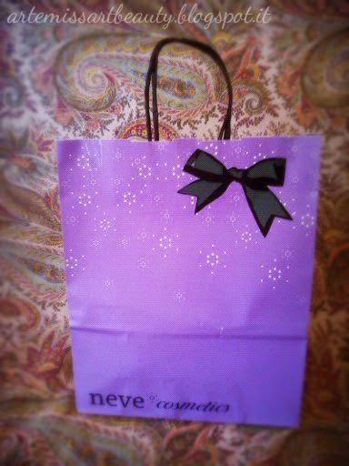 Neve Cosmetics regalo
