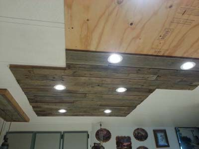 Iluminaci n en una cocina hecha con - Iluminacion rustica interior ...