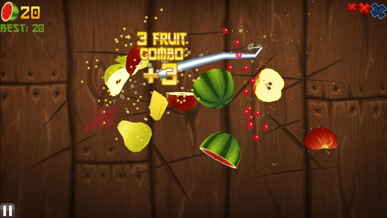 screenshot Fruit Ninja HD PC1