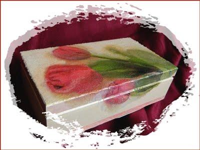 Scatola i tulipani