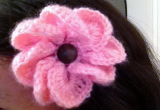 hair clip purchased from the women's findings project