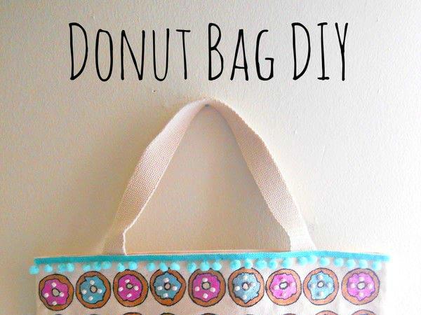 Craft Test Sidekick: Donut Bag DIY