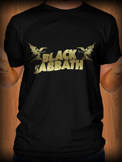 Kaos Black Sabbath 01 Metal Rock Band Music T Shirt