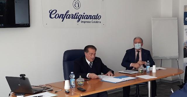 Confartigianato Imprese Calabria, Roberto Matragrano confermato presidente regionale. Salvatore Ascioti e Liberata Soriano vice presidenti