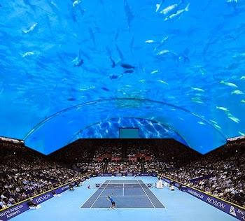 Υποβρύχιο γήπεδο τένις στο Ντουμπάι!