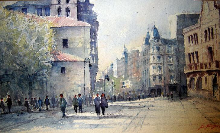 Desde la Calle Ancha. León