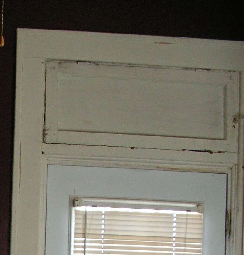 I had to use chemical stripper over the screws to even be able to remove the hardware & 1900 Victorian Home Restoration: Transom window