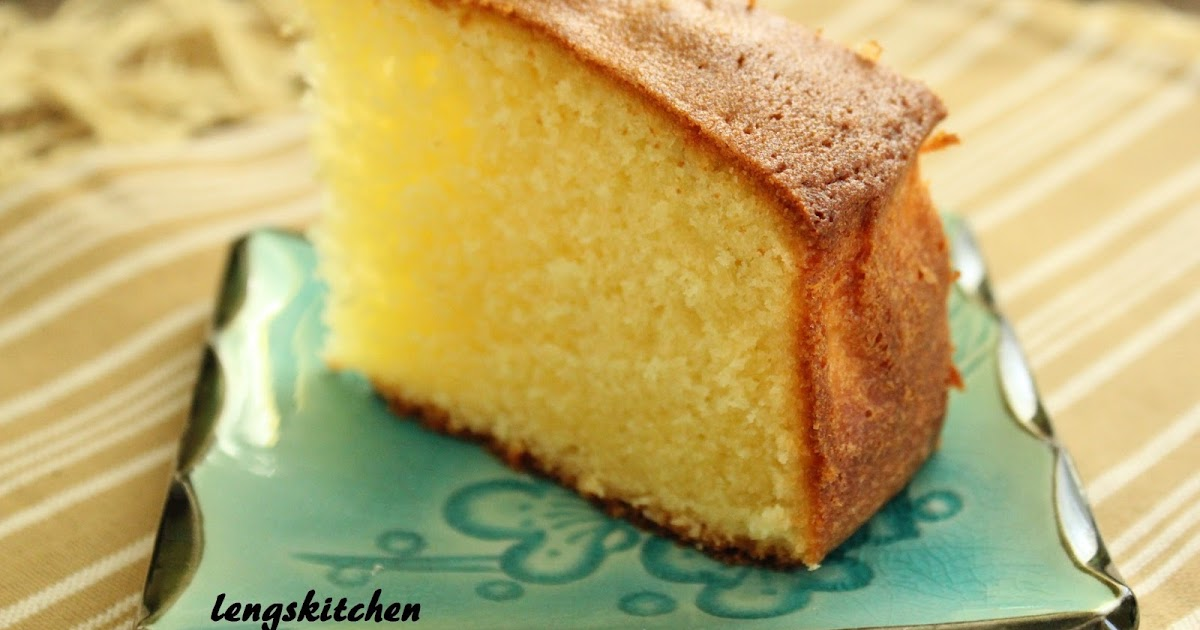 Kitchen Chaos Butter Cake