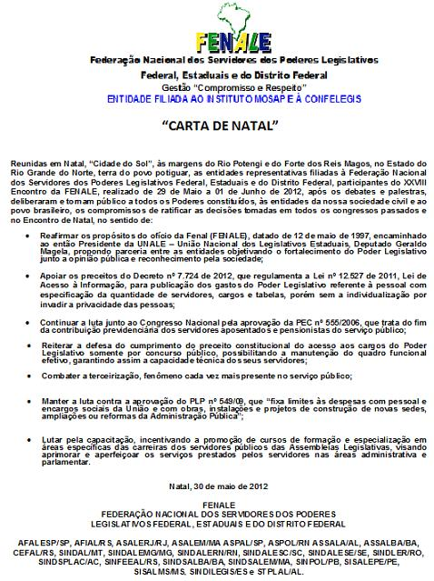 CARTA DE NATAL