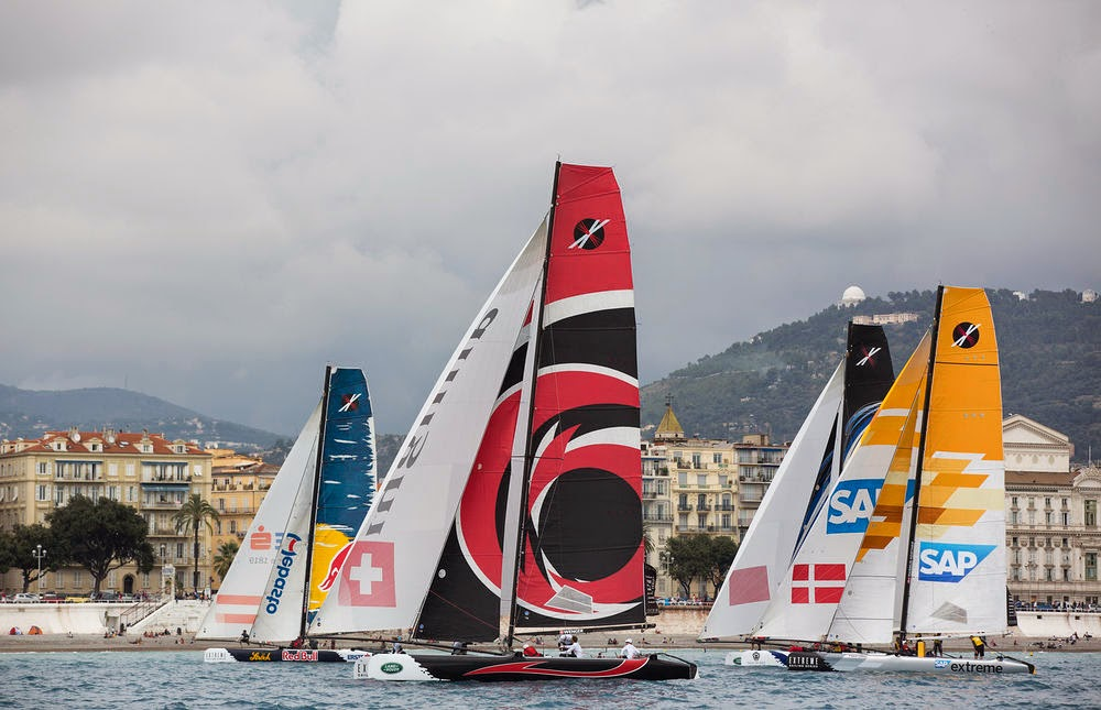 Nice accueillera les Extreme Sailing Series.