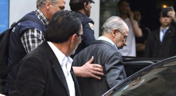 vídeo detención de Rato detenido