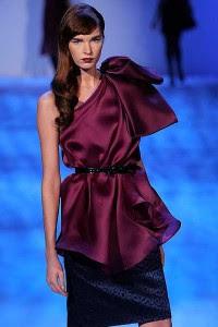 One Shoulder Purple Mini Dress